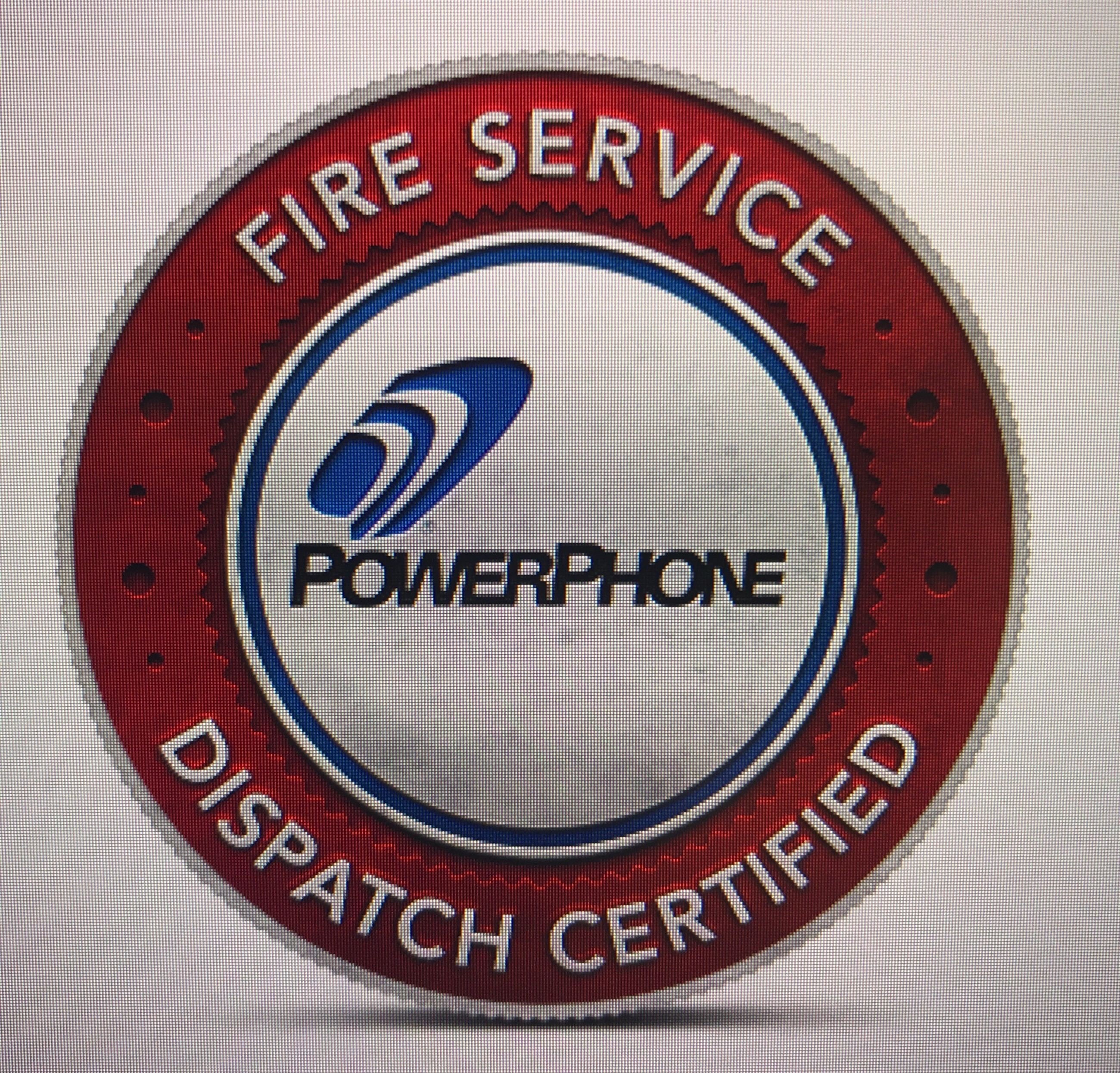 Fire Service Dispatch Badge
