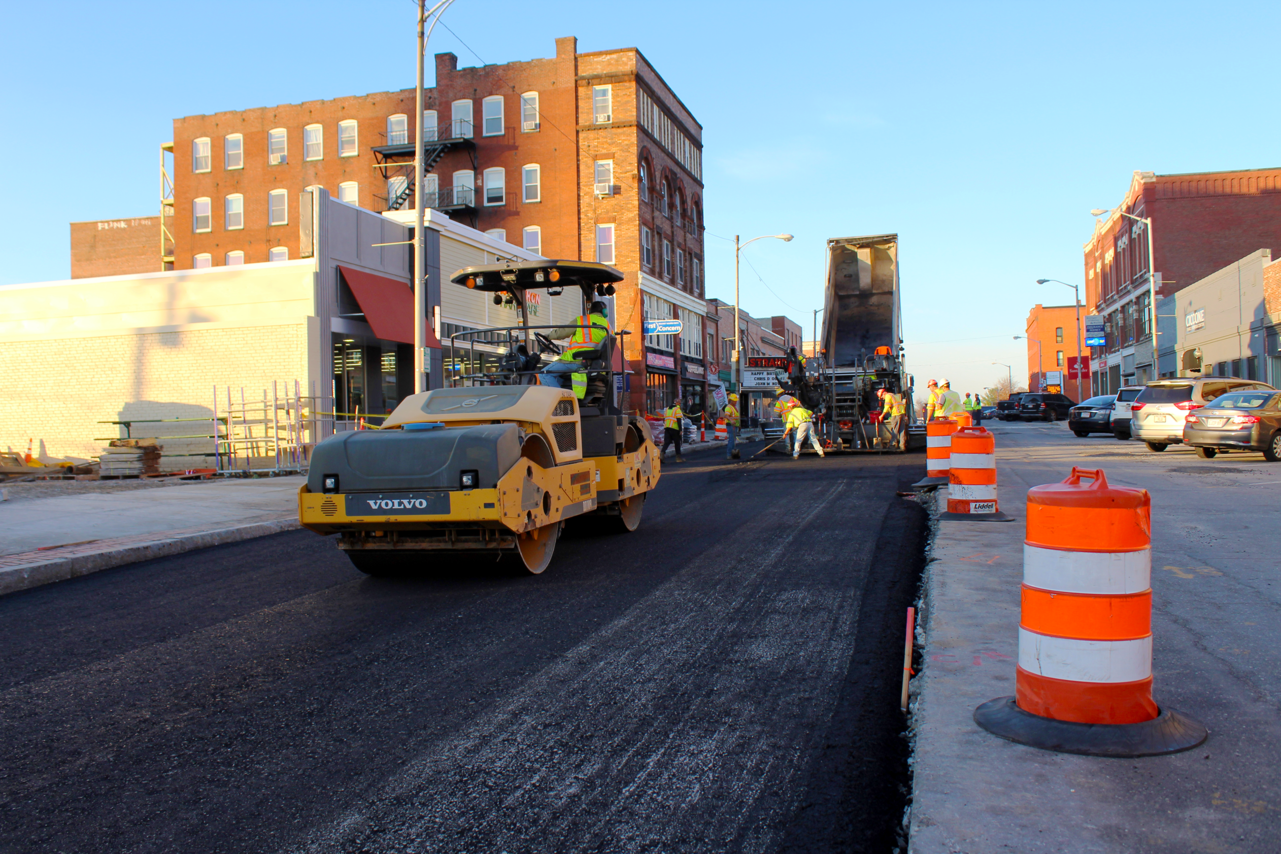 Week 8 High Street Paving Operations